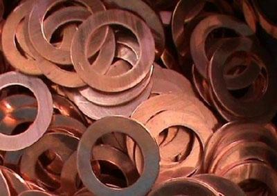 促销紫铜质垫片